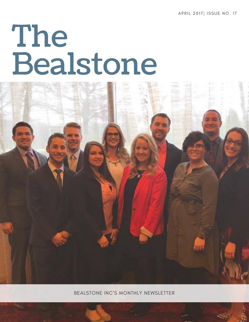 The Bealstone Inc Newsletter April
